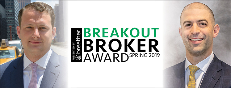 Breakout Broker Award: Benjamin Birnbaum and Ben Shapiro, Newmark Knight Frank