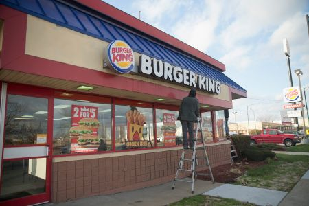 A Chicago-area Burger King.