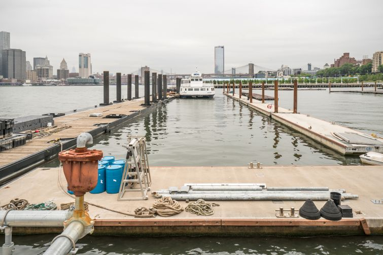 The first pleasure dock to hit Brooklyn in 50 years.