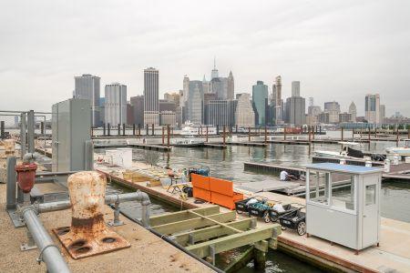 The Brooklyn Marina.