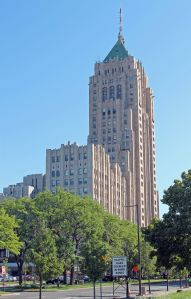 The Fisher Building in Detroit.