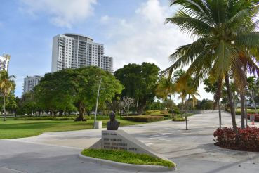 Young Circle Park in Hollywood, Fla.