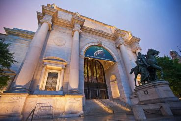 The American Museum of Natural History on May 27, 2015 in New York City. The museum collections contain over 32 million specimens of plants, humans, animals, fossils, minerals, rocks, meteorites, and human cultural artifacts.  (Photo by Ben Hider/Getty Images)