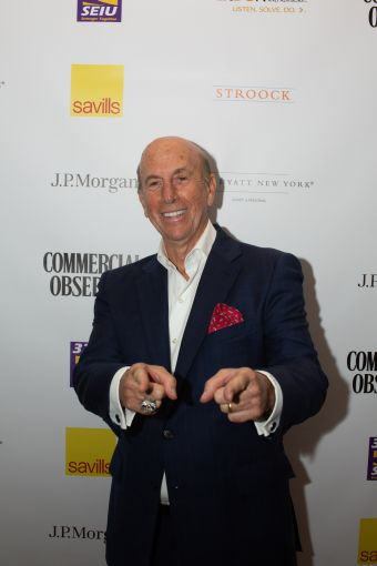 L&L Holding Company Chairman and CEO David Levinson showing out for the camera, equipped with his New York Yankees 2009 World Series ring.