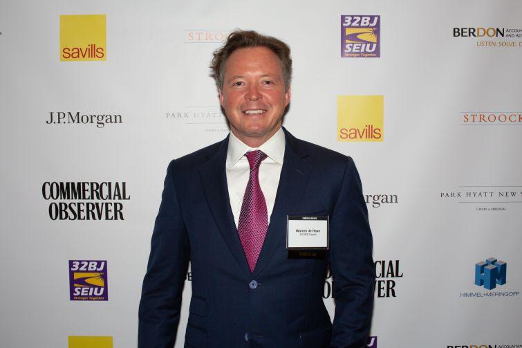 ACORE Capital co-founder and co-managing partner, Warren De Haan.