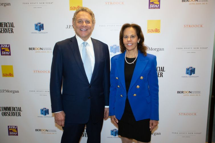 Himmel + Meringoff co-managing partners, Stephen Meringoff, left, and Leslie Himmel.