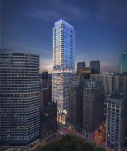 A rendering of The Laurel at 1911 Walnut Street in Philadelphia.