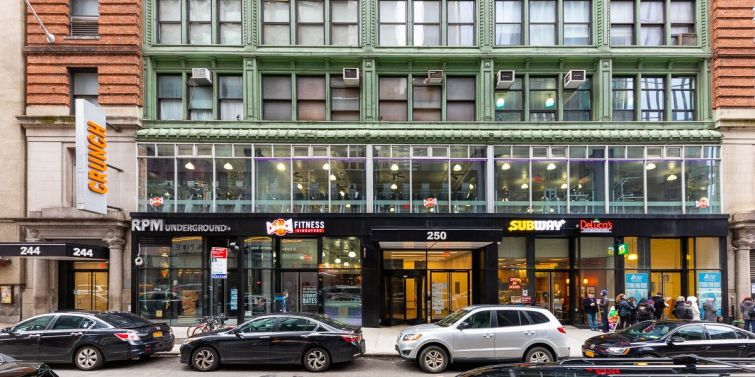 244-250 West 54th Street.