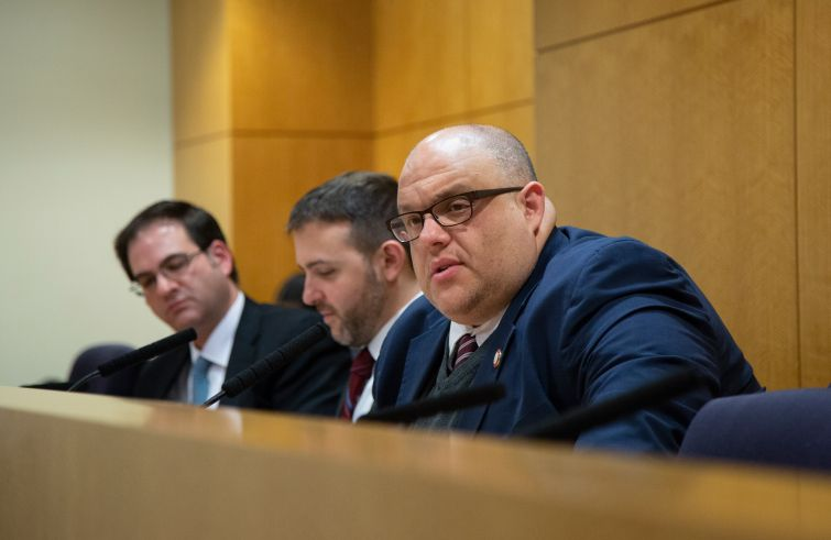 Councilman Justin Brannan introduced a bill in the City Council would make sharing location data illegal.