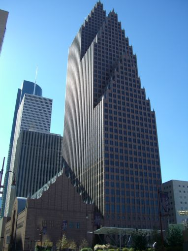 Bank of America Center.
