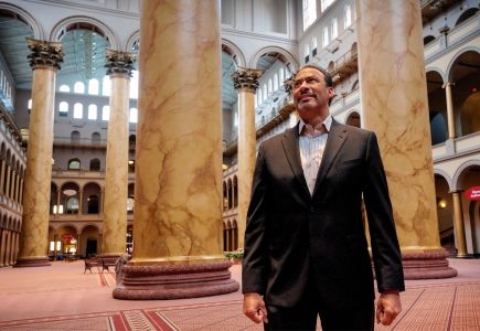 Architect Philip Freelon, who helped design the National Museum of African American History & Culture in D.C., died yesterday.