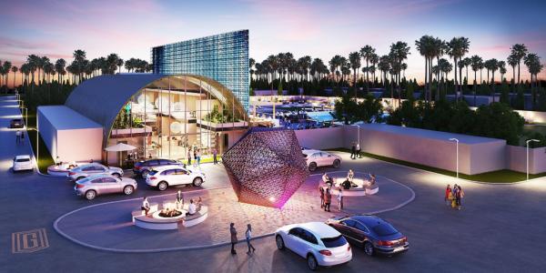 A rendering of Indigo Coachella.