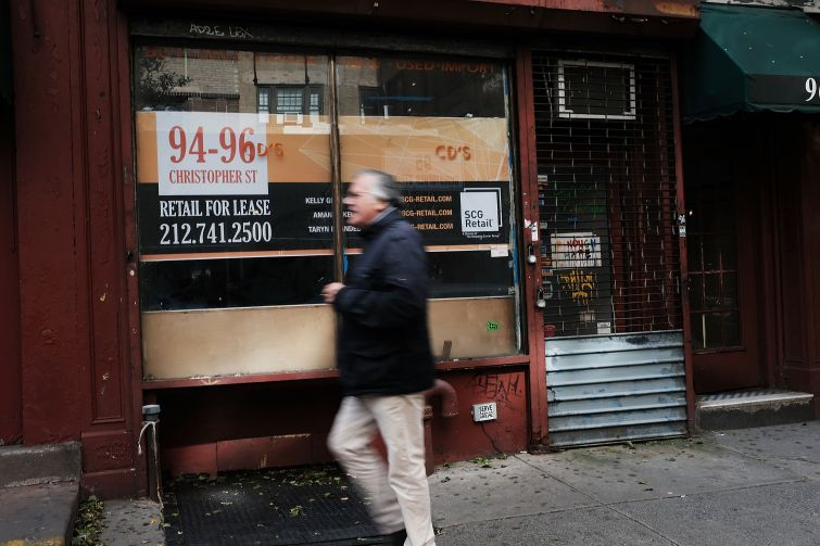 """A new City Planning report found that there's not a """"pervasive vacancy problem"""" for storefronts citywide."""