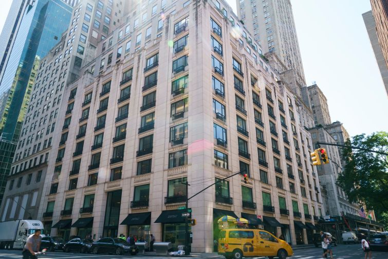 Barneys New York filed for bankruptcy protection, partly blaming a dramatic rent increase at its 660 Madison Avenue flagship.