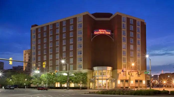 Hilton Garden Inn Detroit Downtown.