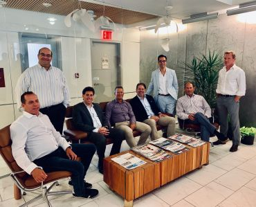 Besen Partners (left to right): Stuart Rich, Sanjay Gandhi, Matthew Slonim, Michael Besen, Matt Mager, Ron Cohen, Daniel Steinberg & Tim Serignese (not featured, Angela Ortiz)
