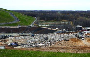 Seneca Meadows landfill.