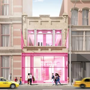 The planned Museum of Ice Cream flagship at 558 Broadway.