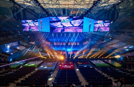 Fortnite World Cup at the Billy Jean King National Tennis Center.