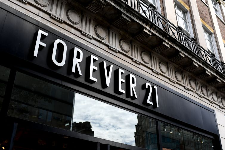 A Forever 21 location in London.
