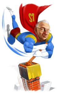 A stalled project could use somebody with a lot of cash. Like, say Larry Silverstein.