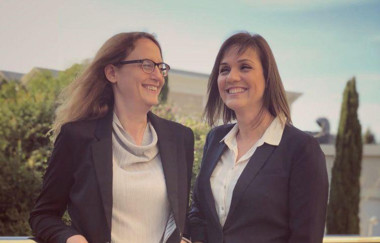 Okapi co-founders Maya Gal and Iris Tsidon.