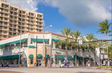 The Walgreens Store in Miami Beach, Fla.