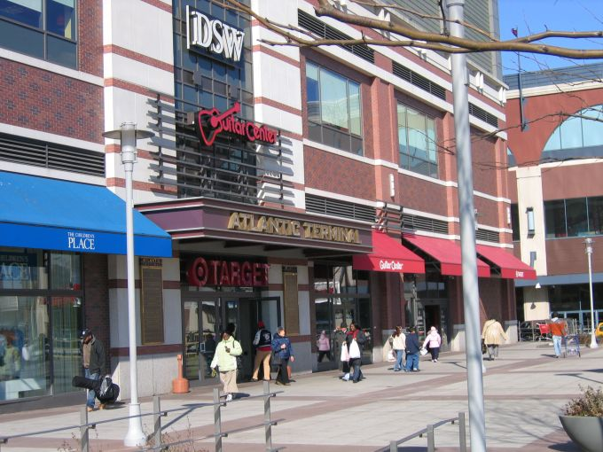 Atlantic Terminal Mall in Brooklyn, where Sephora will be taking over the former Children's Place location.