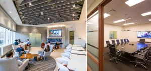 101 301 Conference Room Lounges Lucky 7: Tenants Find a Winning Deal in Suburban Markets
