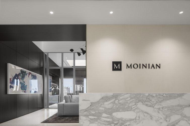 The Moinian Group's HQ at 3 Columbus Circle, New York