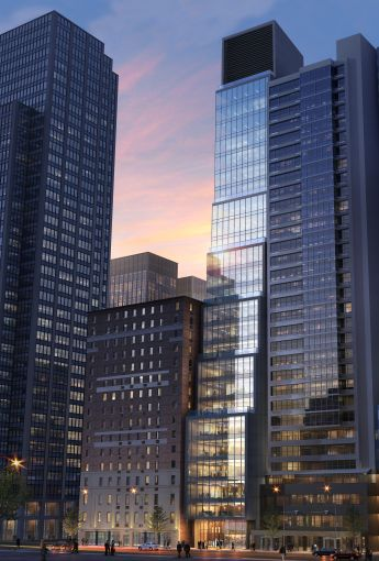Savanna is building a 25-foot-wide office tower known as The Six at 106 West 56th Street, near Billionaire's Row in Midtown.