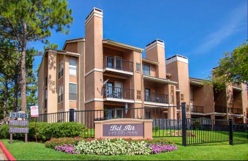 Bel Air Las Colinas apartments in Irving, Texas.
