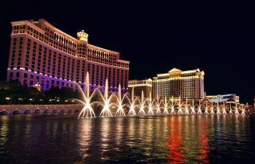 The Bellagio in Las Vegas.
