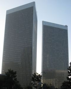 Century Plaza Towers in Los Angeles.