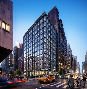 GDSNY and its partner Klovern break ground today on their new 12-story office building at 322-326 Seventh Avenue.