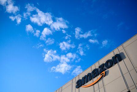 Amazon's fulfillment center on Staten Island.