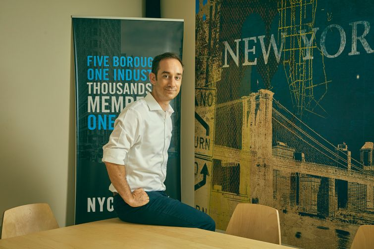Andrew Rigie, the executive director of the New York City Hospitality Alliance.