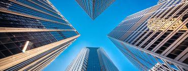 Skyscrapers in Lower Manhattan