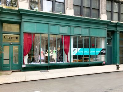 20 East 20th Street when it was occupied by Chacott, a ballet shoe and apparel store.