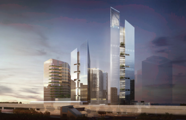 The Iconic at The View at Tysons rendering
