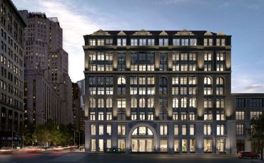 A rendering of 287 Park Avenue South.