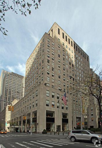 50 Rockefeller Plaza.