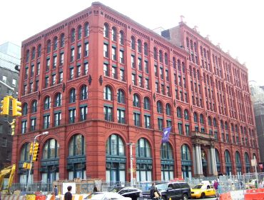 The Puck Building.