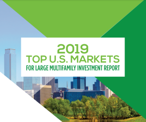 2019 Top U.S. Markets for Large Multifamily Investment Report