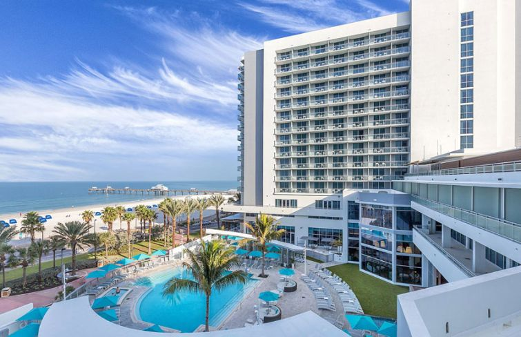 The Wyndham Grand Clearwater Beach in Clearwater, Fla.