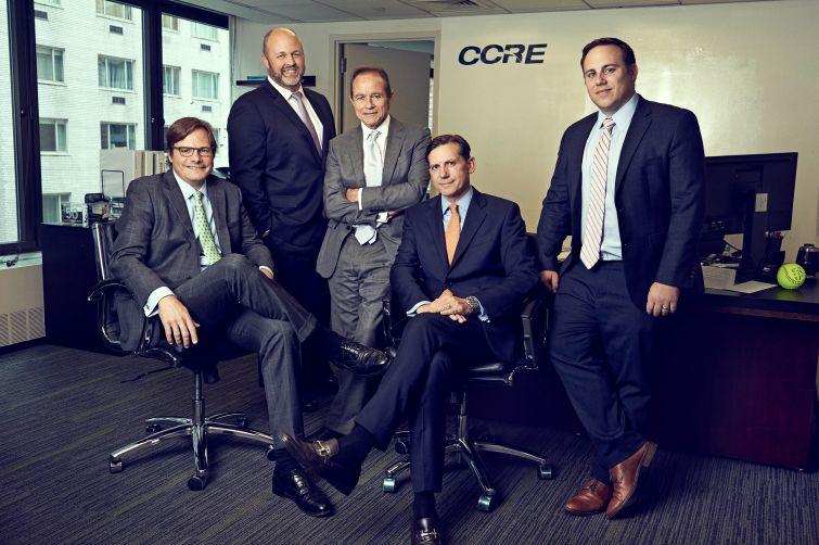 CCRE's senior team: From left- Stephen Bartlett, Tim Groves, Paul Vanderslice, Baz Preston and Jared Noordyk