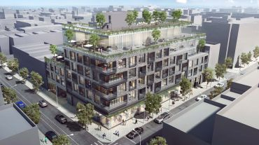 A rendering of 510 Driggs Avenue.