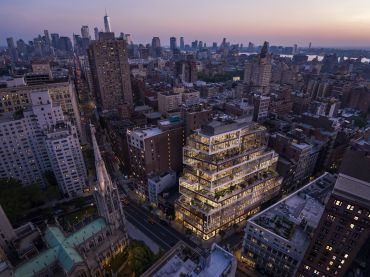 799 Broadway - Aerial View
