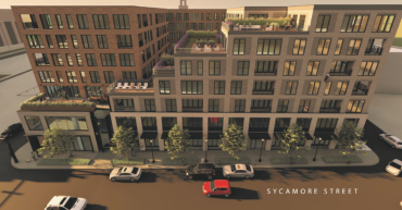 A rendering of 1118 Sycamore in Cincinnati.