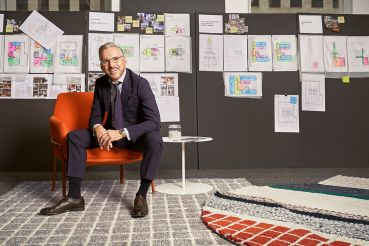 Architect Tom Vecchione started as a principal at Vocon two months ago after a 30-year career at Gensler.